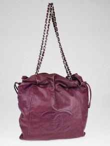 Chanel Purple Caviar Leather Caviar 31 Large Tote Bag