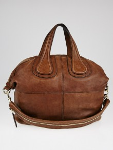 Givenchy Brown Leather Medium Nightingale Bag