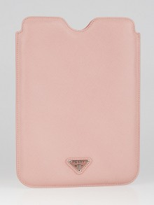 Prada Pink Saffiano Leather iPad Mini Cover