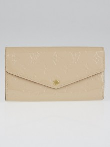 Louis Vuitton Dune Monogram Vernis Sarah NM3 Wallet
