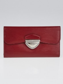 Louis Vuitton Rubis Epi Leather Eugenie Wallet
