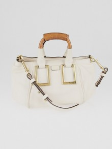 Chloe Light Pink Leather Mini Ethel Crossbody Bag
