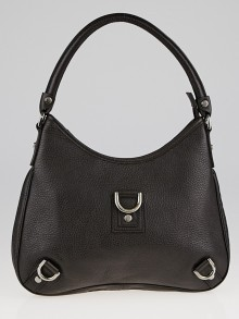 Gucci Brown Pebbled Leather Abbey D Ring Shoulder Bag