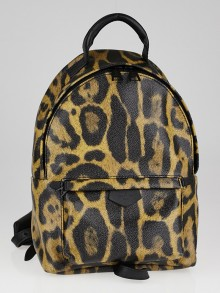 Louis Vuitton Wild Animal Coated Canvas Palm Springs Backpack PM Bag