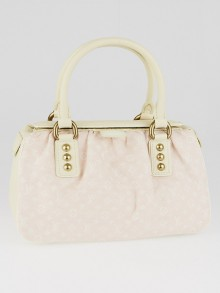 Louis Vuitton Rose Monogram Mini Lin Trapeze PM Bag
