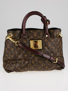 Louis Vuitton Limited Edition Monogram Etoile Exotique Tote MM Bag