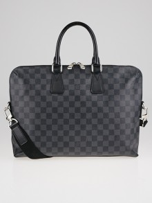 Louis Vuitton Damier Graphite Canvas Porte-Documents Jour Bag