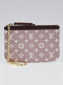 Louis Vuitton Sepia Monogram Idylle Pochette Cles Key and Change Holder