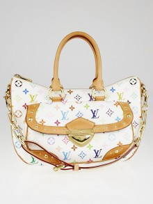Louis Vuitton White Monogram Multicolore Rita Bag