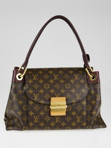 Louis Vuitton Bordeaux Monogram Canvas Olympe Bag