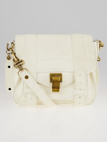 Proenza Schouler White Lux Leather Mini PS1 Bag