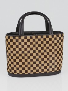 Louis Vuitton Limited Edition Damier Sauvage Calf Hair Impala Bag