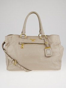 Prada Pomice Soft Calfskin Leather Tote Bag BN2103