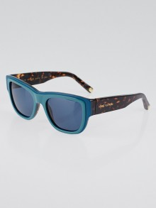 Louis Vuitton Turquoise and Tortoise Shell Acetate Frame Sunglasses Z0617W