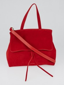 Mansur Gavriel Flamma Suede Leather Lady Bag