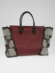 Louis Vuitton Prunille Veau Cachemire Orfevre and Veau Cachemire Calfskin Leather W GM Bag