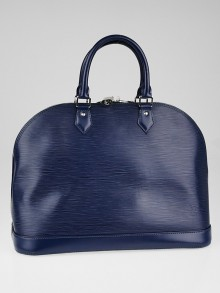 Louis Vuitton Indigo Epi Leather Alma GM Bag