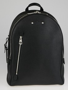 Louis Vuitton Black Taurillon Leather Armand Backpack Bag