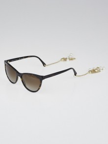 Chanel Tortoise Shell Acetate Cat Eye Frame and Fantasy Peals Sunglasses-5341