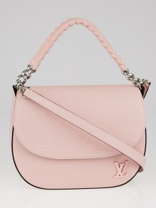 Louis Vuitton Rose Ballerine Epi Luna Bag