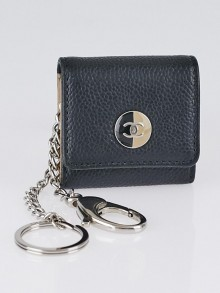 Chanel Black Caviar Leather Key Holder Case