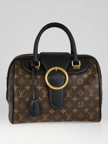 Louis Vuitton Limited Edition Black Monogram Canvas Golden Arrow Speedy Bag