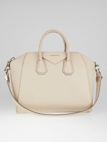 Givenchy Nude Pink Sugar Goatskin Leather Medium Antigona Bag
