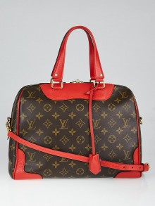 Louis Vuitton Coquelicot Monogram Canvas Retiro NM Bag