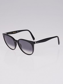 Celine Black Acetate Frame Thin Mary Sunglasses- CL41068