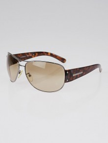 Prada Silvertone and Tortoise Shell Frame Tinted Sunglasses- SPR52G