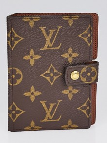 Louis Vuitton Monogram Canvas Small Agenda Cover/Notebook