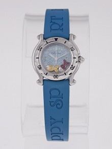 Chopard Stainless Steel Happy Sport Happy Beach Fish Ladies Watch