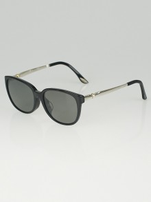 Cartier Black Acetate Frame Sunglasses