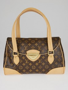 Louis Vuitton Monogram Canvas Beverly GM Bag