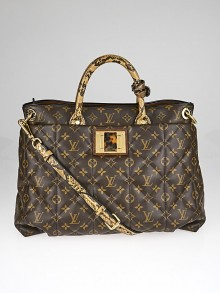 Louis Vuitton Limited Edition Monogram Etoile Exotique Tote GM Bag