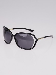 Tom Ford Black Frame Raquel Gradient Tint Sunglasses- TF76