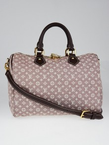 Louis Vuitton Sepia Idylle Monogram Speedy Bandouliere 30 Bag