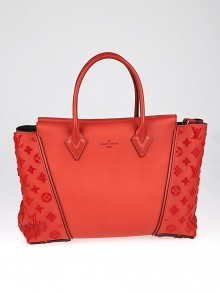 Louis Vuitton Paprika Veau Cachemire Calfskin Leather W PM Bag