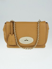 Mulberry Deer Brown Grainy Leather Small Lily Bag