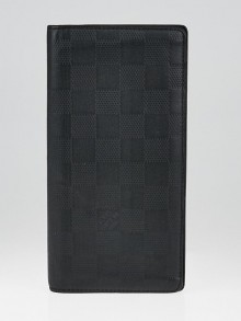 Louis Vuitton Black Damier Infini Leather Brazza Wallet