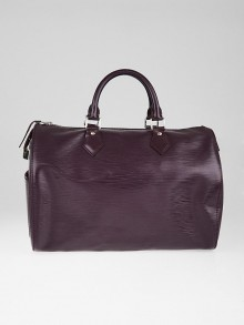 Louis Vuitton Cassis Epi Leather Speedy 30 Bag