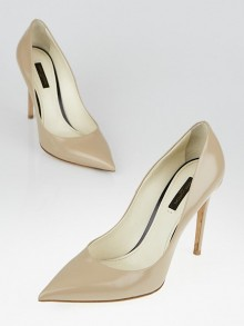 Louis Vuitton Beige Leather Pumps Size 8.5/39