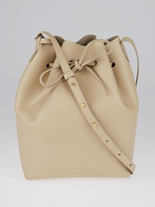 Mansur Gavriel Sand/Sand Calf Leather Large Bucket Bag