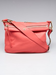 Chloe Pink Leather Vanessa Shoulder Bag