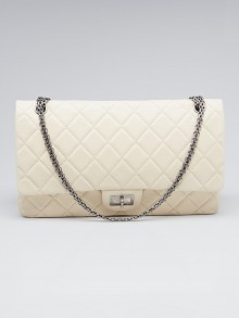 Chanel Light Beige 2.55 Reissue Quilted Classic 228 Flap Bag