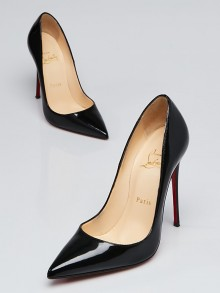Christian Louboutin Black Patent Leather So Kate 120 Pumps Size 6/36.5