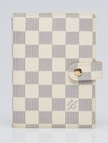 Louis Vuitton Damier Azur Canvas Small Agenda/Notebook