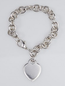 Tiffany & Co. Sterling Silver Return to Tiffany Charm Bracelet