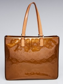 Louis Vuitton Bronze Monogram Vernis Columbus Tote Bag