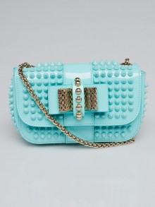 Christian Louboutin Opaline Patent Leather Mini Sweet Charity Bag